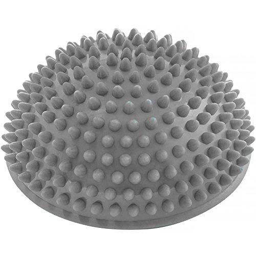 #DoYourFitness Balance-Kugel »Igel« zur Steigerung der Balance/Koordination. Ideal für Balance-Training 320g zirka 8cm hoch und 16cm Durchmesser in grau