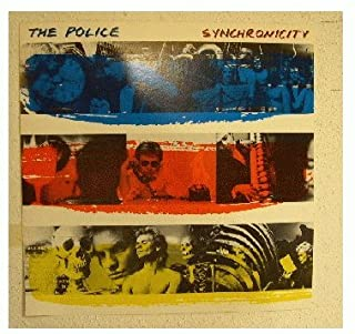 the police synchronicity poster