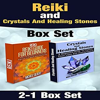 Reiki and Crystals and Healing Stones Box Set cover art