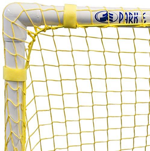 Park & Sun Sports Bungee-Slip-Net Replacement Nylon Goal Net: Soccer/Multi-Sport Goal, Yellow, 54' W x 44' H x 24' D