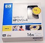 HP DVD+R Lightscribe 10pk