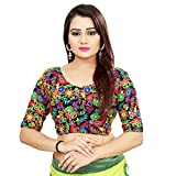 Comes in black colour Unstitched Georgette Embroidered Blouse Piece Good qualitative product