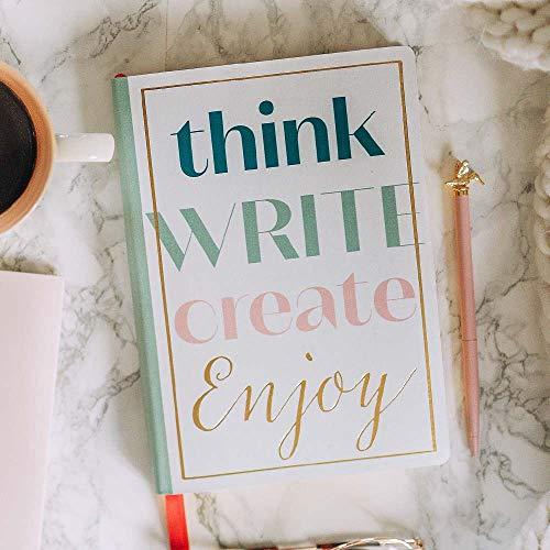ARTEBENE Notizbuch Notizheft Schreibheft Schreibbuch Din A5 120 Blatt Think Write Create