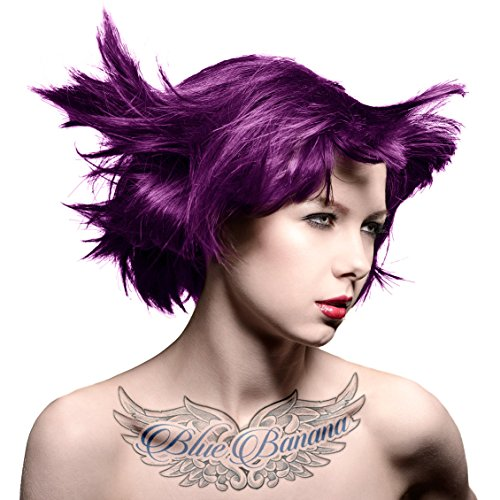 Manic Panic Plum Passion Hair Colour Classic Cream Formula 4oz. by Manic Panic