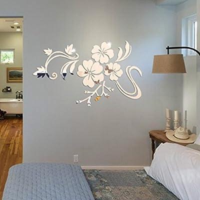 Esta pegatina de pared es ligero y fácil de instalar con buen efecto de espejo. Muy de moda y la respiración moderna. Puede DIY. Se podría diseñar te gusta Material: Acrílico. Tamaño: los 78 * 60cm Estas etiquetas engomadas de la pared tienen etiquet...