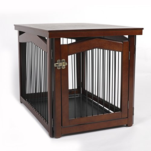 Merry Pet 2-in-1 Configurable Pet Crate and Gate For Pugs