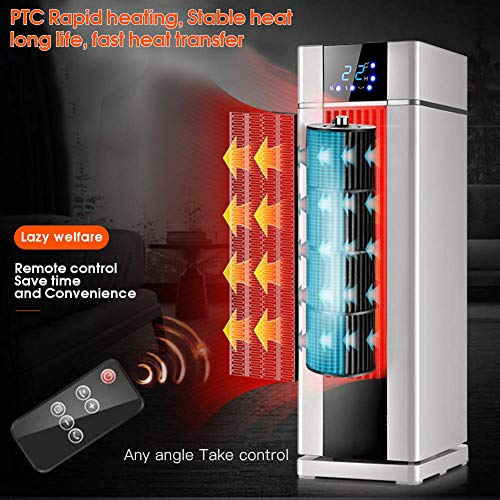 Great Price! FYLD LCD Electric Heater with Remote Control,Space Heater,8H Programmable Timer,Automat...
