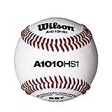 Wilson Pro Series Baseballs, A1010 HS1, SST, NFHS (One Dozen)