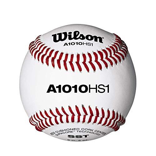 Wilson Pro Series Baseballs, A1010 HS1, SST, NFHS (uma dúzia)