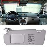 HYUNDAI Interior Sun Visor Shade LH Gray For 2006-2010 Sonata OEM Parts