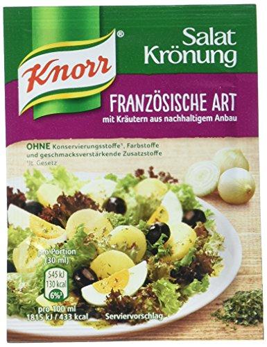 Knorr Salatkrönung Französische Art Dressing 5er-Pack, 40 g