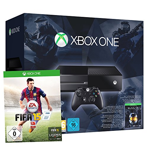 Xbox One inkl. Halo - The Master Chief Collection & FIFA 15
