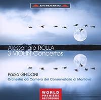Three Violin Concertos