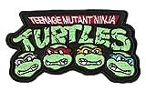 Teenage Mutant Ninja Turtles Iron-on Patch (3.5' / 9cm) Embroidered TMNT Logo Cartoon Badge!