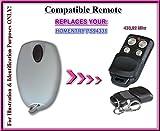 Kompatibel mit HOMENTRY ps94331Fernbedienung kompatibel Sender ersatz, Schlüsselanhänger