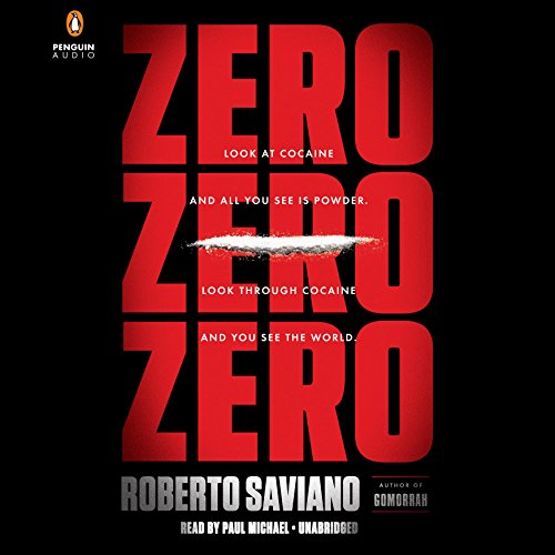 ZeroZeroZero audiobook cover art