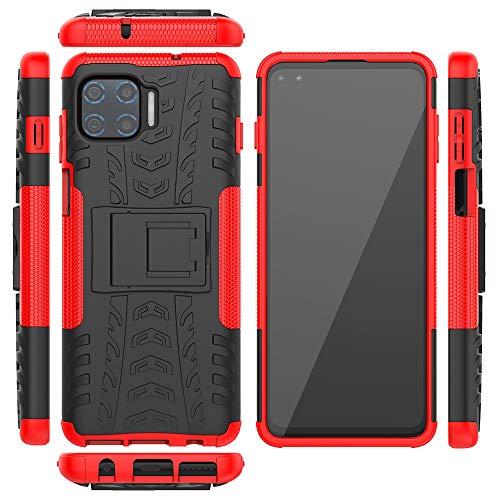 Capa protetora XYX Armor para Motorola One 5G, borracha de camada dupla para Moto G 5G Plus, vermelha