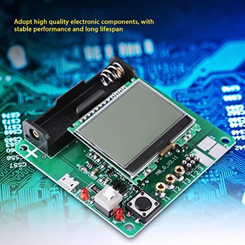Tester del transistor Mega328, tester ESR del tester a transistor, triodo a diodi LCD multifunzionale del tester a transistor, MOSFET ESR PNP NPN NPP del tester del triodo a diodi