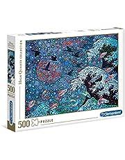 Clementoni 35074 Dans met sterren, puzzel van 500 stukjes, hoogwaardige collectie, kleurrijk behendigheidsspel voor het hele gezin, puzzel voor volwassenen vanaf 9 jaar