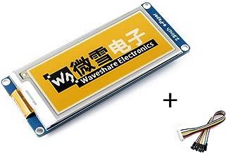 Tri-Color 2.9inch E-Ink Display Module 296x128 3.3V/5V Three-Color Yellow/Black/White E-Paper Electronic Screen Panel SPI Interface for Raspberry Pi/Jetson Nano/Arduino/STM32