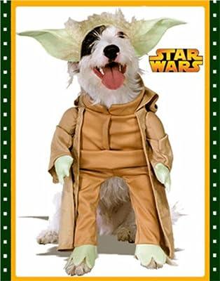 Yoda Dog Pet Costume - Large by Rubies