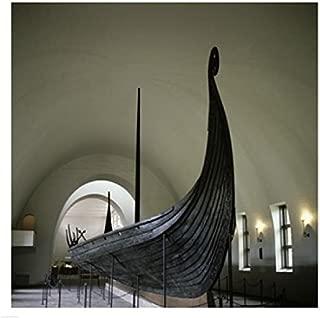 Posterazzi 9th Century Viking Ships Oslo Norway Poster Print (18 x 24)