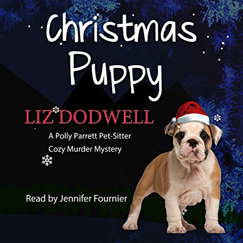 The Christmas Puppy audiobook cover art