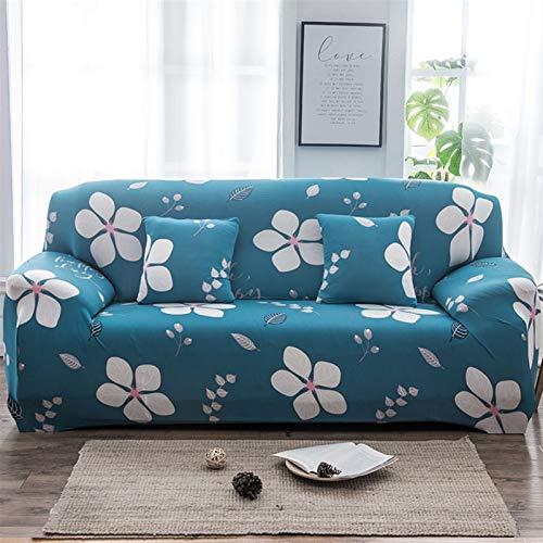 kengbi Funda de sofá duradera y fácil de limpiar, funda elástica para sofá de sofá, funda elástica para sala de estar, elastano, antideslizante, funda universal de licra