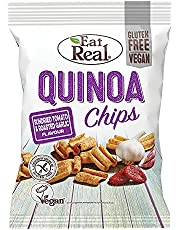 Eat Real Quinoa Chips, Sundried Tomato & Roasted Garlic, 80 gm (Pack of 1)