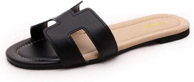 Btrada Women Casual Flats Sandals Fashion Summer Slippers Daily Slip On shoes Flip Flops Lady Beach Footwear