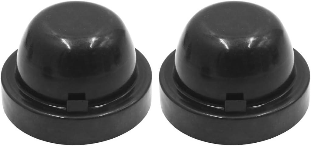 uxcell 2pcs 90mm Inner Dia Rubber Seal Denver Mall Car Cap Housing Headlight Translated