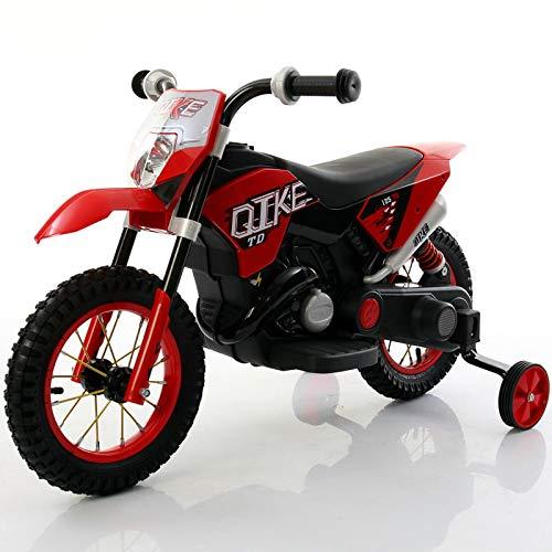 babyfun Moto Elettrica per Bambini 6V Rossa