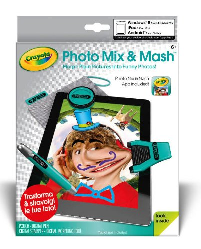 Crayola DigiTools Photo Mix&Mash - Digitales Mal-Set für Tablets (Android & Apple iOS)