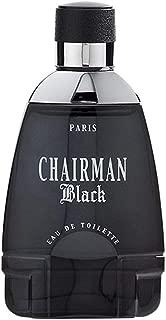 CHAIRMAN BLACK BY YVES DE SISTELLE COLOGNE FOR MEN 3.3 OZ / 100 ML EAU DE TOILETTE SPRAY