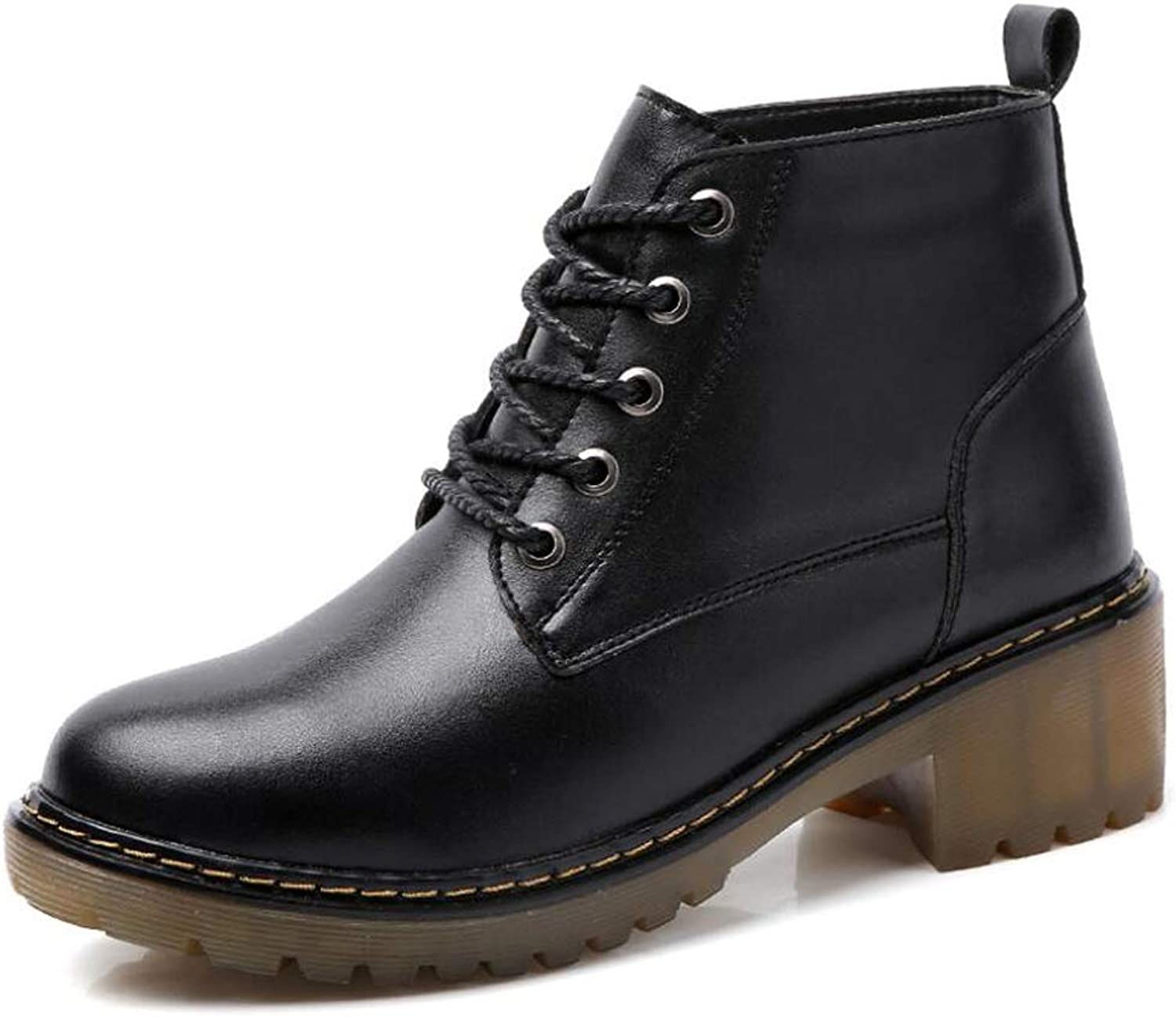 Women's Martin Boots Casual Thick-Soled Women's Boots Fashion Booties