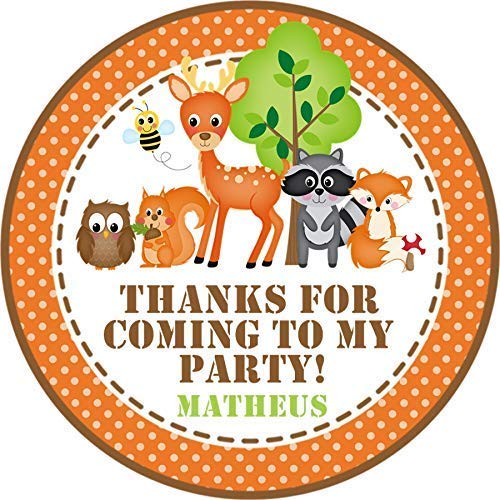 Louisville-Jefferson County Mall Woodlands Animals Birthday Party Stickers Ranking TOP5 Favor Or Tags
