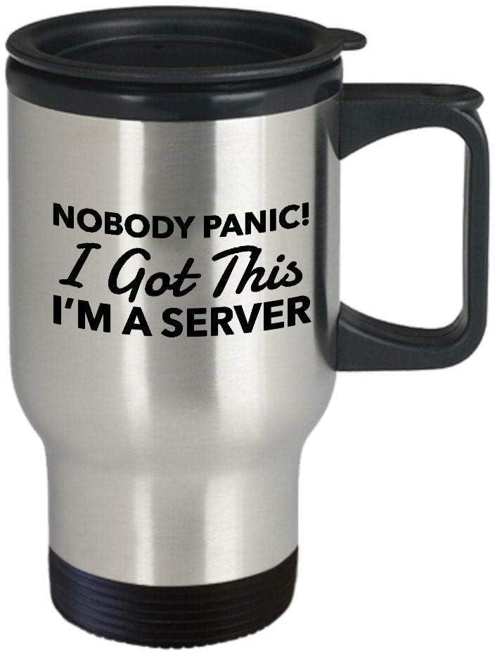 Funny trust server Max 79% OFF gift for humor Mug ser travel
