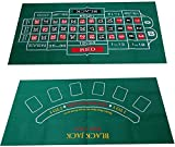 blackjack roulette table blackjack roulette sheet Waterproof Table Mat Blackjack Roulette Tablecloth Desktop layout game pad