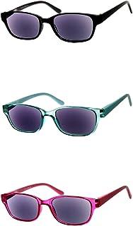 a64dff5f4a Gafas de lectura tintadas como gafas de sol en rojo, verde menta, negro,