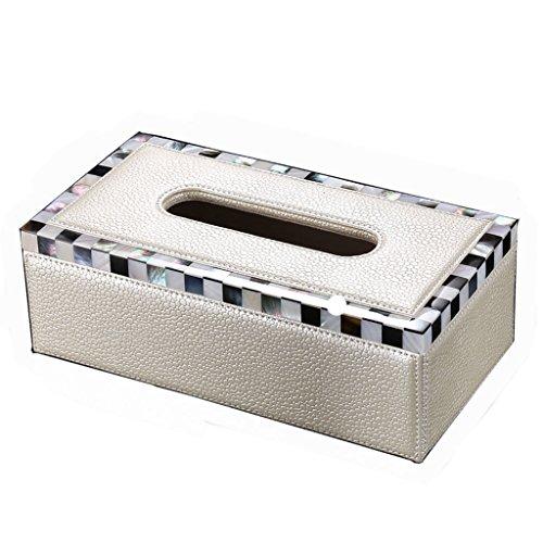 Uitstekend Upscale Europese tissue box woonkamer Book kistje thuis creatieve persoonlijkheid auto shell kartonnen doos Gemakkelijk
