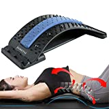 Back Stretcher, Backright Lumbar Relief Lower Back Stretcher, Multi-Level Back Massage Stretcher Device, Upper and Lower Back Pain Relief, Spinal Pain Relieve, Herniated Disc, Spine Deck