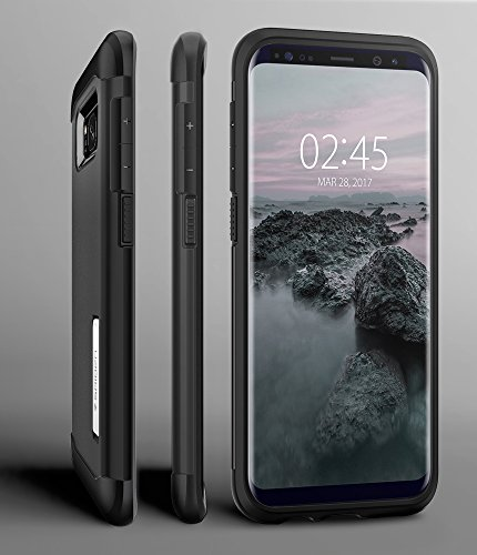Spigen Slim Armor Designed for Samsung Galaxy S8 Plus Case (2017) - Black