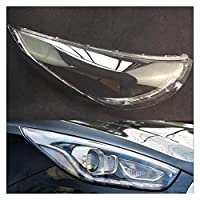 ヘッドライトレンズカバー 車のヘッドライトレンズのフィット感のためのヒュンダイIX35 2013年から2015年ヘッドランプカバー車のヘッドライトレンズの交換オートシェルカバー透明なヘッドライトカバー カバーヘッドランプの交換 (Color : Passenger Sider)