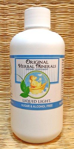 Original Herbal Minerals (8 oz Bottle) - Liquid Multivitamin, Calcium, Trace Minerals, and More.