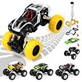 Take Apart Toys Monster Trucks Toy for Boys, Pull Back Vehicles Cars, DIY Your Educational STEM Toy Car with 3 Different Car Models, Build Your Own Car Kit Toy for Boys & Girls Aged 3+ - 30 Parts