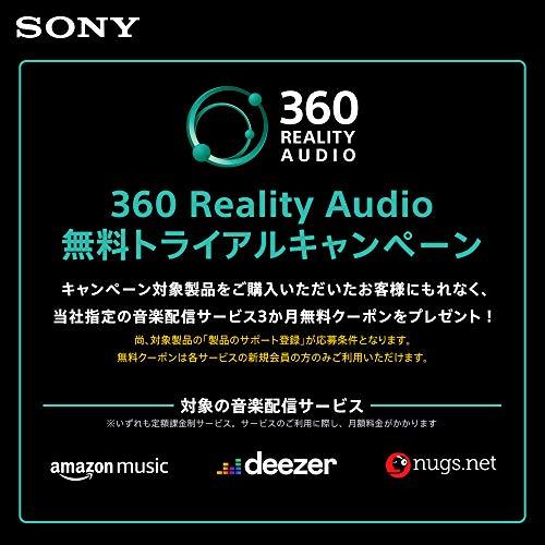 ソニーワイヤレスノイズキャンセリングイヤホンWI-1000XM2:ハイレゾ対応/AmazonAlexa搭載/bluetooth/最大10時間連続再生/DSEE搭載ネックバンド型ノイキャンプロセッサーQN1搭載ハードケース付属2019年モデル/マイク付き/360RealityAudio認定モデルブラックWI-1000XM2BM