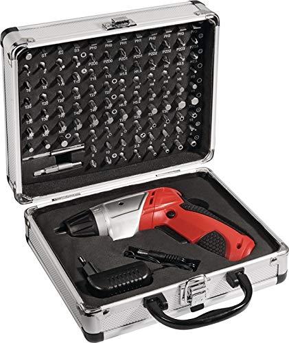 Wiha NOW - Juego de puntas de destornillador (104 piezas, planas, PH/PZD/TX/i6-KT./Security Bits con batería)