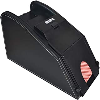 Automatic Card Shuffler, Electronic Professional Card Shuffler 2 in 1, Quiet, Great for Home -Tournament Use for Classic P...