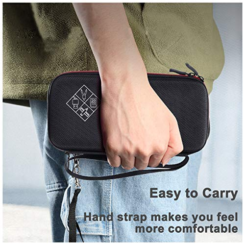 XBERSTAR Hard EVA Shockproof Carry Case Bag Pouch for Texas Instruments TI-84 Plus CE/Color TI-83 Plus,TI-89 Titanium, HP 50G Graphing, Scientific Financial Calculators (Blue) … Photo #4