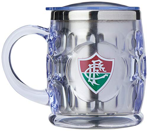 Caneca Termica 500ml - Fluminense Fluminense Cinza